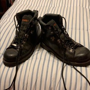 Ladies Harley Davidson Motorcycle boots
